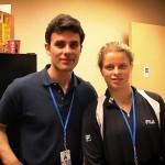 Kim Clijsters at Indian Wells