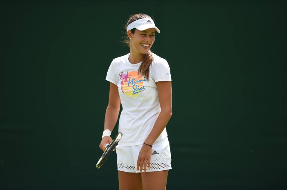 Anna Ivanovic at Wimbledon 2016