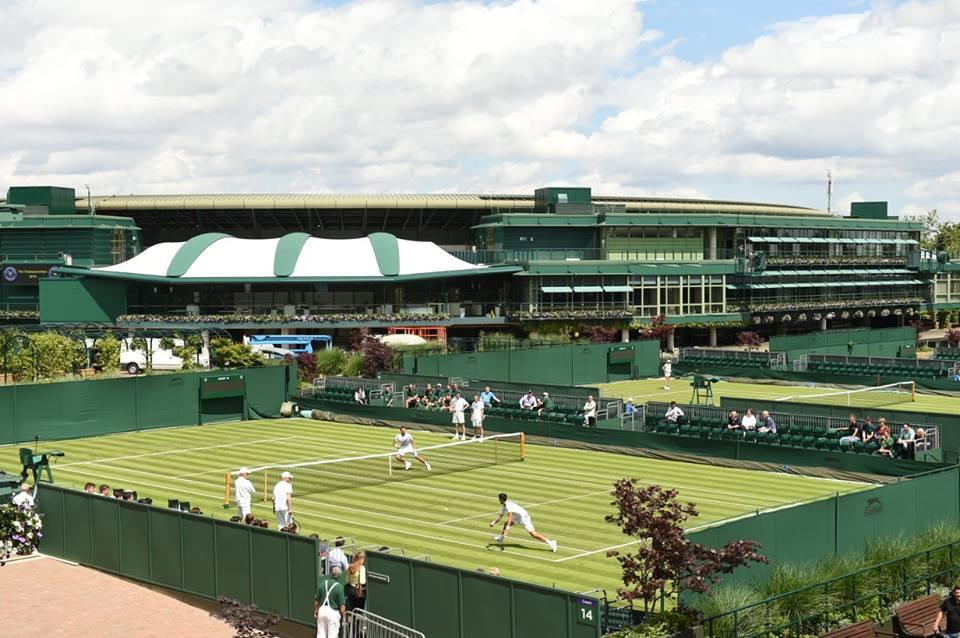 Aerial View at Wimbledon