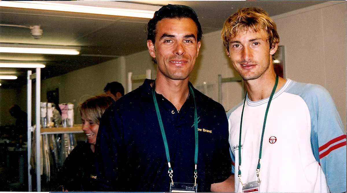 Πλέκοντας για τον Juan-Carlos-Ferrero No1 κόσμου.